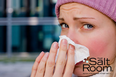 Cold and Flu natural remedies with salt in St Charles The Salt Room St. Charles